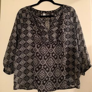Old Navy Woman Tunic top